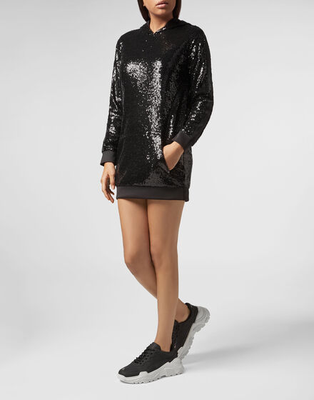 Jogging Day Dress  XYZ Paillettes