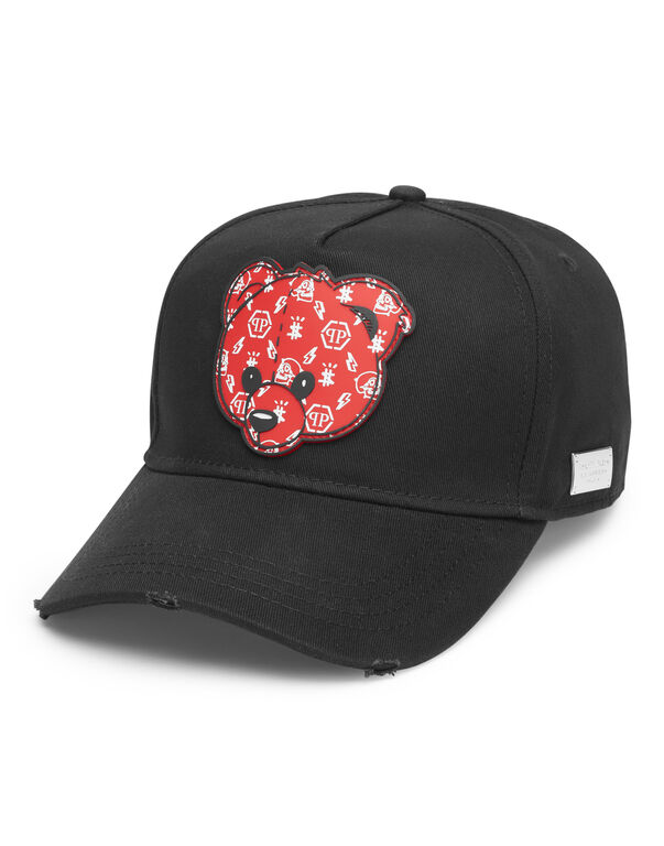 Baseball Cap Teddy Bear