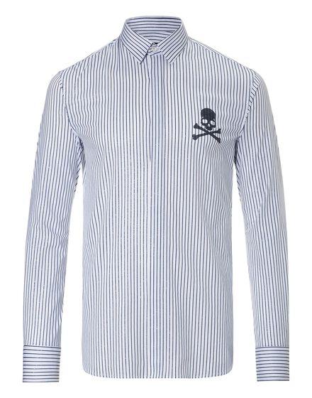 Shirt Diamond Cut LS New stripes