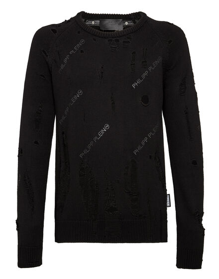 Pullover Round Neck LS All over PP