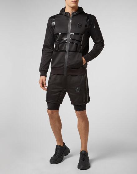 Hoodie Sweatjacket XYZ Geometric