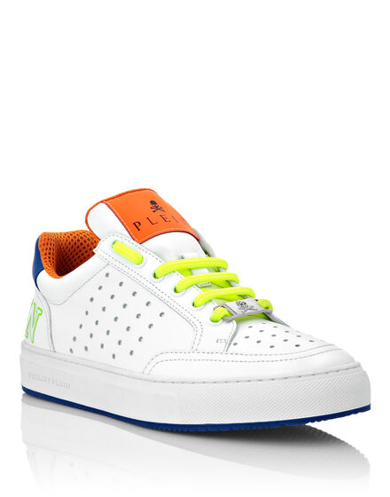 Multicolor Leather Lo-Top Sneakers