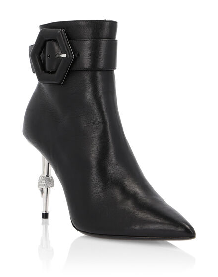Bootie High Heels Hexagon
