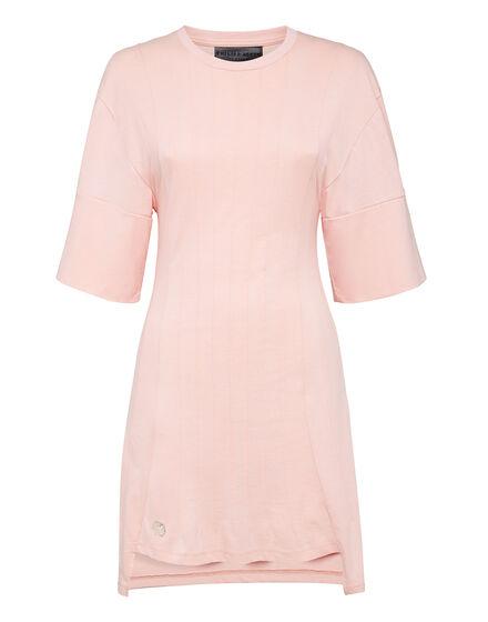 T-Shirt Short Dresses Pink paradise