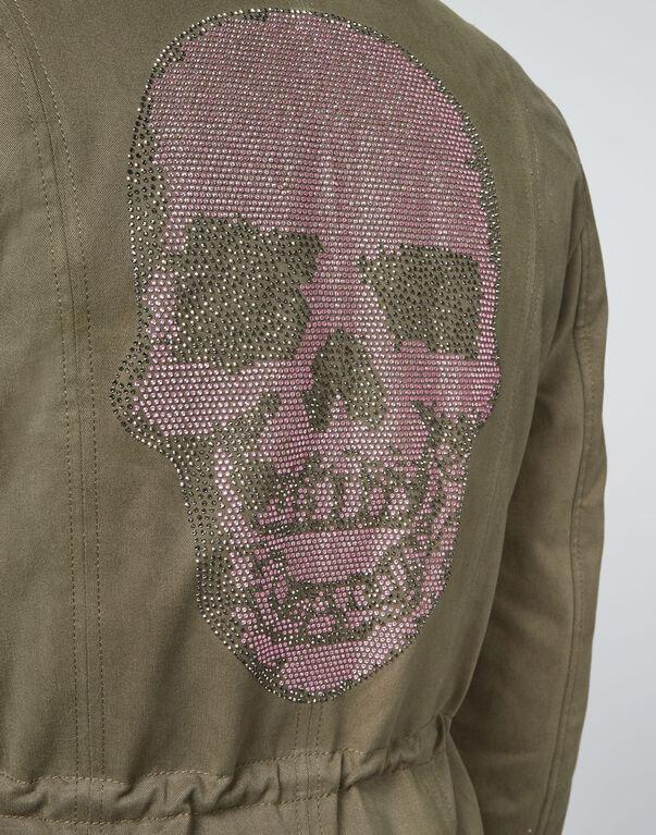 "Parka ""On the avenue"" Skull"