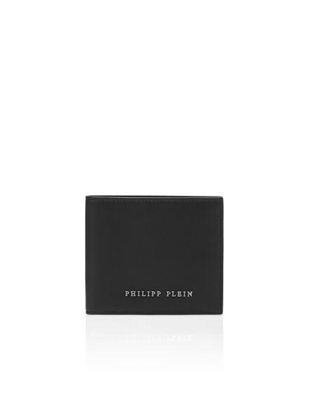 Nylon French wallet Iconic Plein