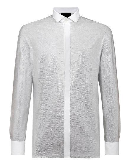 Shirt Platinum Cut SS Crystal