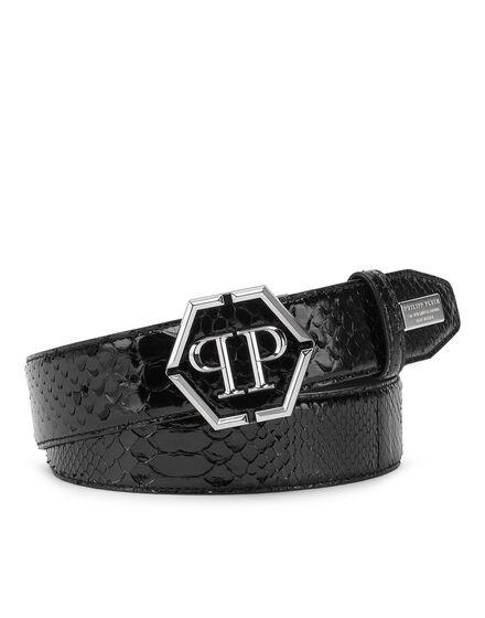 Belt Shiny Python Luxury