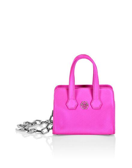 Satin Handle bag Iconic Plein