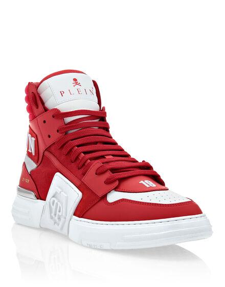 PHANTOM KICK$ Hi-Top Sneakers mix materials