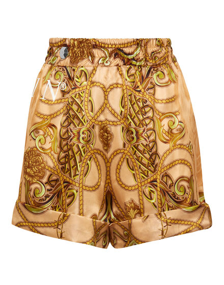 Silk Short Trousers New Baroque