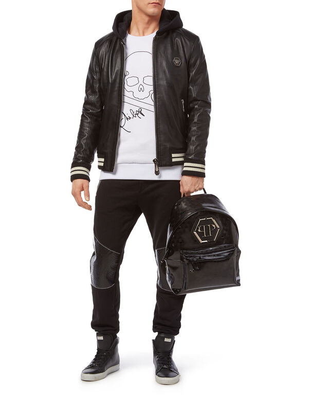 "Leather Bomber ""Aggressive"""