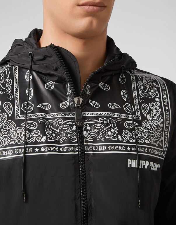 Nylon Jacket Paisley
