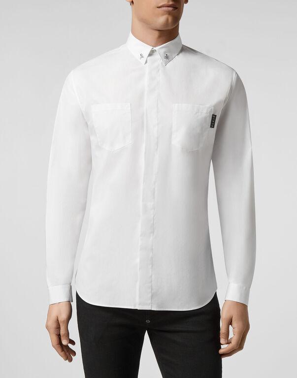 Shirt LS Skull