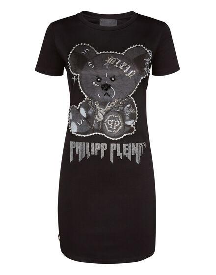 T-Shirt Short Dresses Teddy Bear