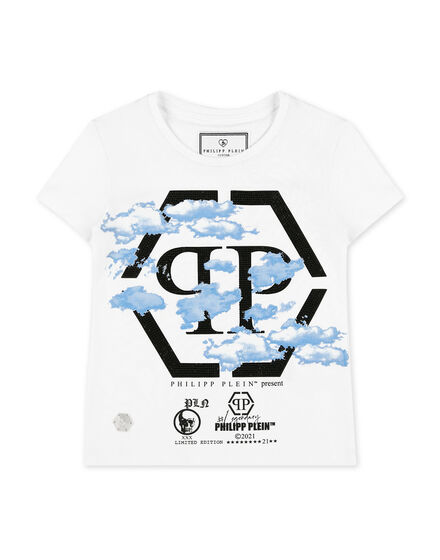 T-shirt Round Neck SS Clouds