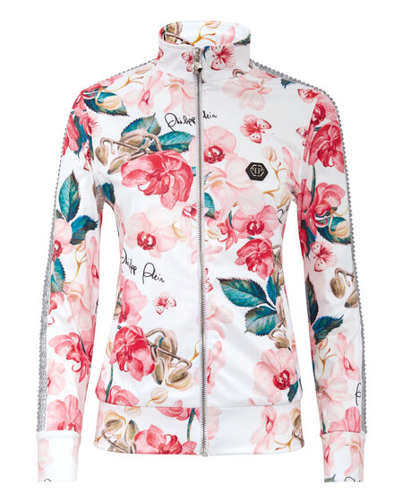 Jogging Jacket Flowers