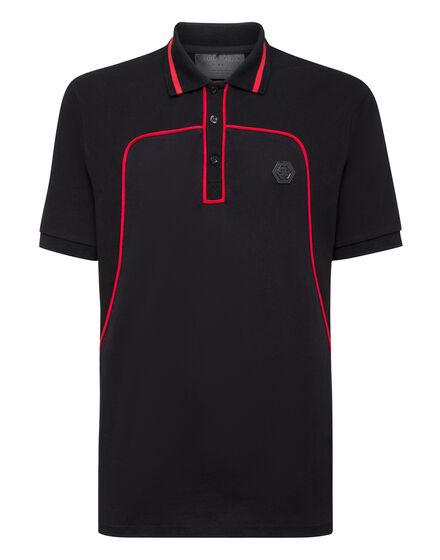 Polo shirt SS Iconic Plein