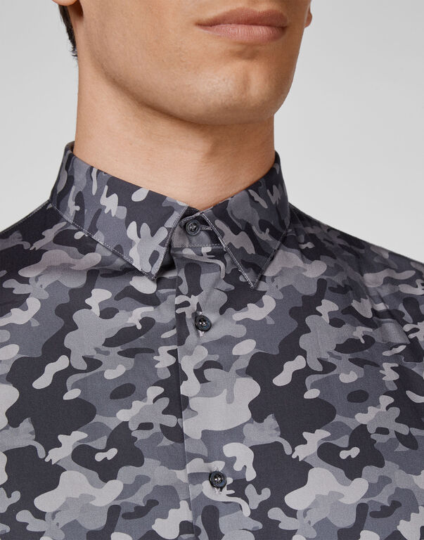 Shirt Gold Cut LS Camouflage