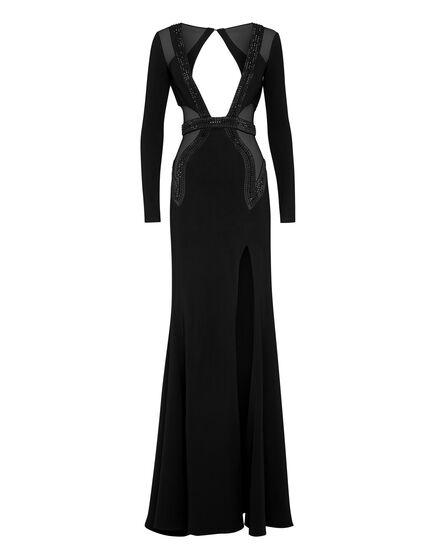 Long Dress Geometric