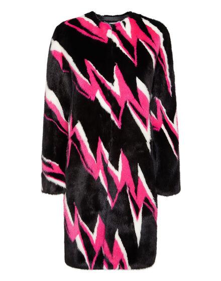 Fur Coat Long Thunder