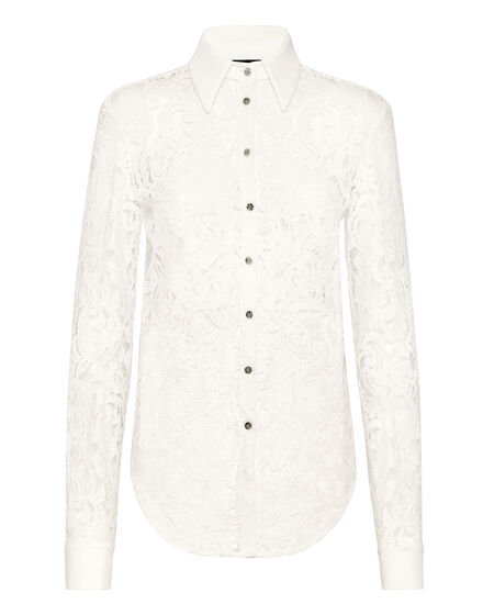 Shirt LS Lace