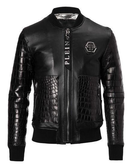 Leather Bomber York