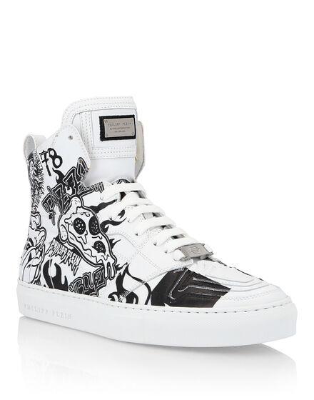 Hi-Top Sneakers Pizza boy