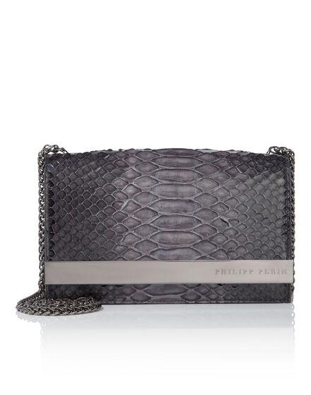shoulder bag M reptilia