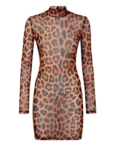 Short Dress  Leopard