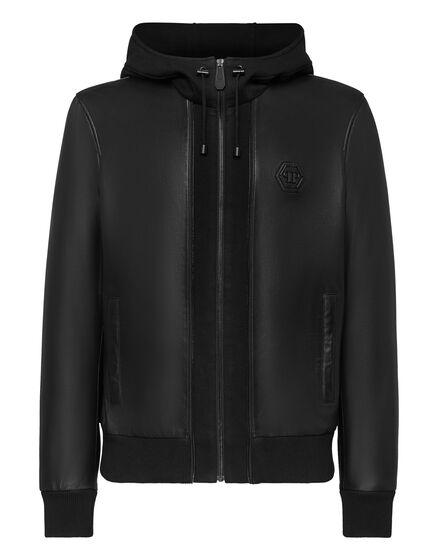 Soft Leather Jacket Iconic Plein
