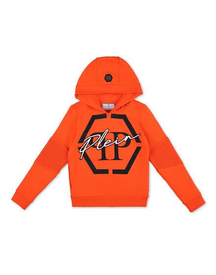 Hoodie sweatshirt Hexagon