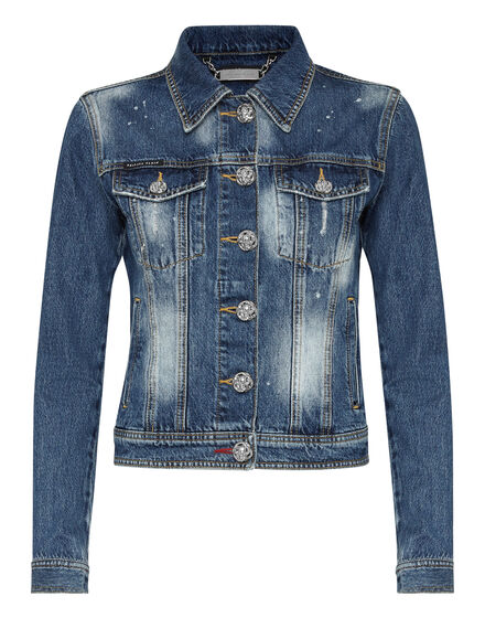 Denim Jacket Iconic Plein