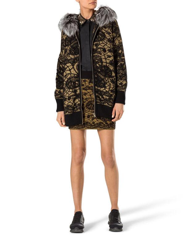 "knit coat ""freesia"""