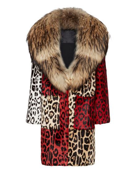 Fur Coat Long Maculate