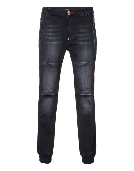 Denim trousers New