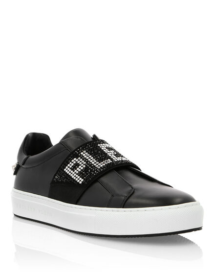 Lo-Top Sneakers Crystal Plein