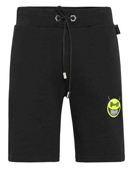 Jogging Shorts Evil Smile