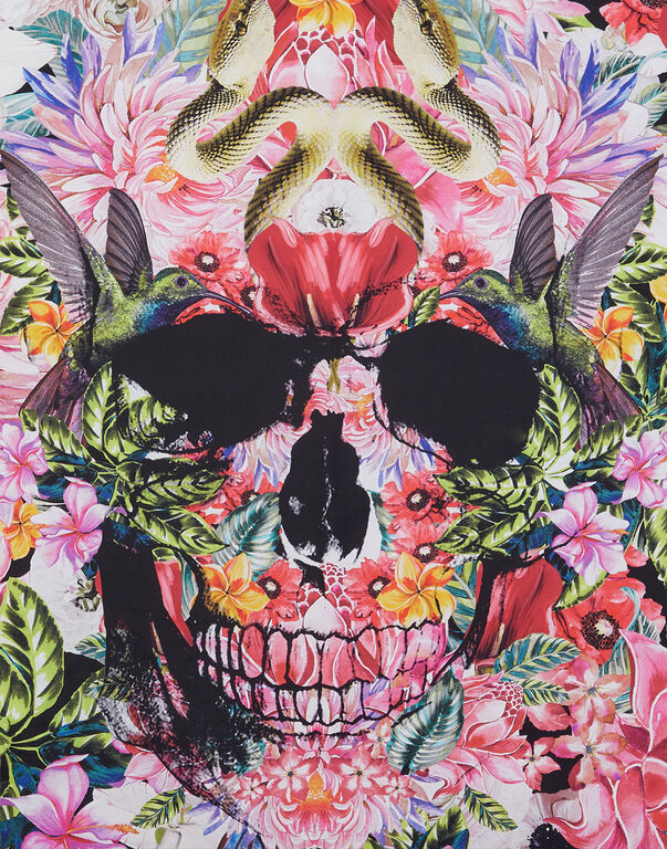 Foulard Skull and roses