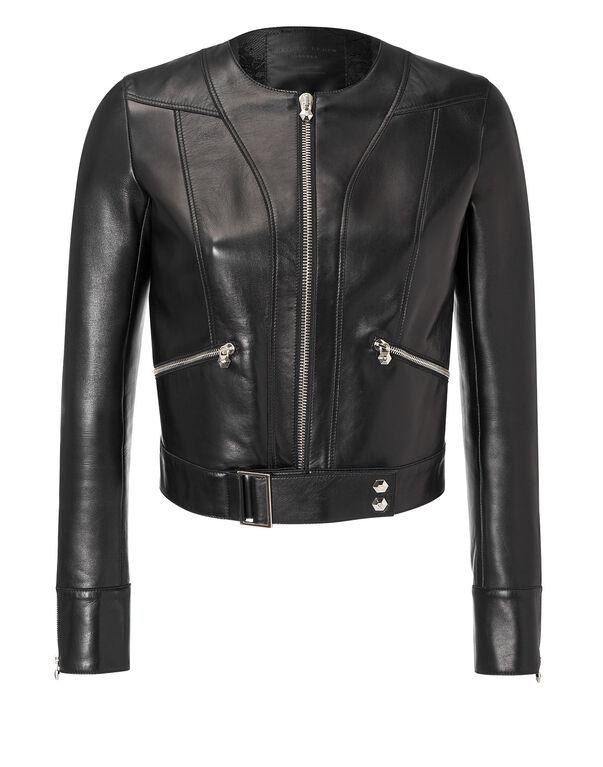 "leather jacket ""tokyo bound"""
