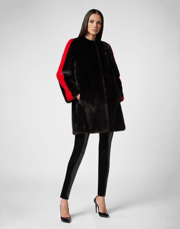 Fur Coat Long Luxury