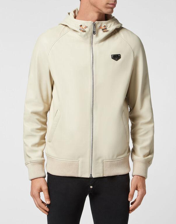 Leather Jacket Iconic Plein
