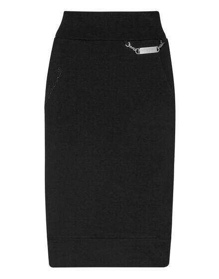 Leisurewear skirt Embroidery Signature