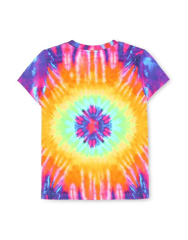 T-shirt Crop Round Neck SS Tie dye