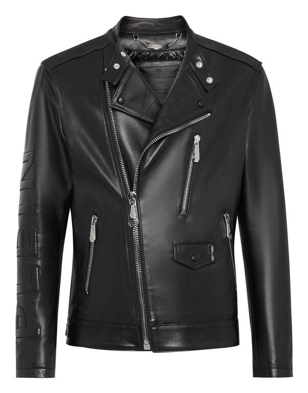 Leather Biker Philipp Plein TM