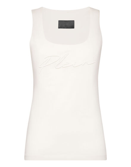 Leisurewear Tank top Embroidery Signature