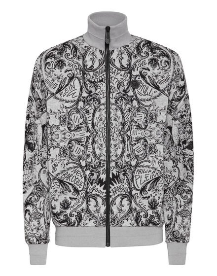 Knit Jacket Jacquard New Baroque