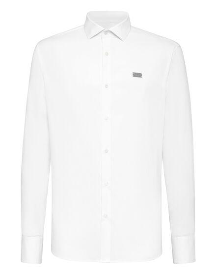 Shirt Diamond Cut LS Iconic Plein