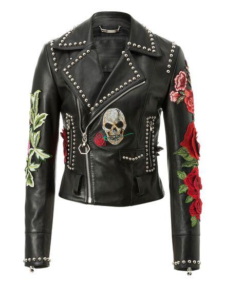 Leather Biker Carole Guado