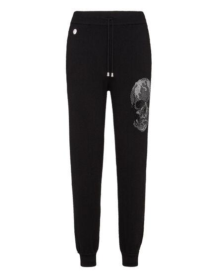 Knit Jogging Trousers Skull